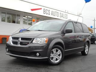 Used 2018 Dodge Grand Caravan Crew Plus, Power Doors, Navigation, Bluetooth for sale in Vancouver, BC