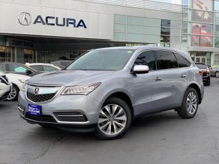Used 2016 Acura MDX Navigation Package NAVI | 1OWNER | NEWTIRES | NOACCIDENTS | for sale in Burlington, ON