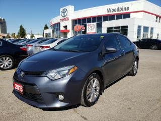 Used 2015 Toyota Corolla LE ECO | Leather | Alloys for sale in Etobicoke, ON