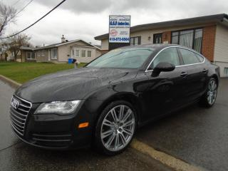 Used 2012 Audi A7 for sale in Ancienne Lorette, QC