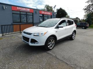 Used 2013 Ford Escape SEL|NAVI|MICROSOFT SYNC|SUNROOF for sale in St. Thomas, ON