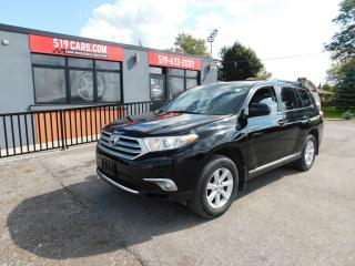 Used 2013 Toyota Highlander BASE|4WD|BLUETOOTH|BACKUP CAMERA for sale in St. Thomas, ON