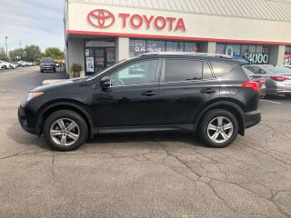 Used 2015 Toyota RAV4 XLE auto black/black fog lights power pkg for sale in Cambridge, ON