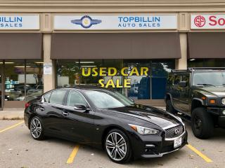 Used 2015 Infiniti Q50 Sport AWD, Tech Package for sale in Vaughan, ON