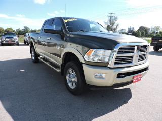 Used 2012 RAM 3500 Laramie Longhorn. Diesel. 4X4 . No winters. for sale in Gorrie, ON