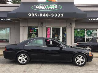 Used 2002 Lincoln LS w/Premium Pkg for sale in Mississauga, ON
