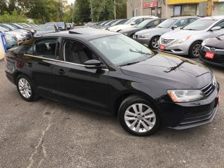 Used 2017 Volkswagen Jetta WOLFSBURG ED/ AUTO/ SUNROOF/ CAM/ ALLOYS/ LIKE NEW for sale in Scarborough, ON