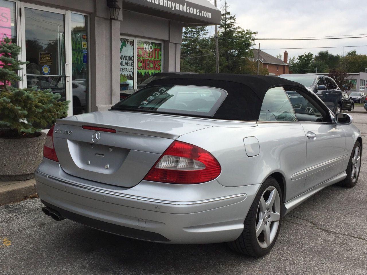 2008 Mercedes-Benz CLK
