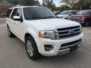 Used 2016 Ford Expedition Platinum | Max | Power Moonroof for sale in Harriston, ON