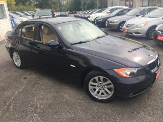 Used 2008 BMW 3 Series 323i/ AUTO/ LEATHER/ ALLOYS/ PWR GROUP/ LIKE NEW! for sale in Scarborough, ON