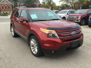 Used 2015 Ford Explorer Limited | Accident Free | Power Moonroof for sale in Harriston, ON