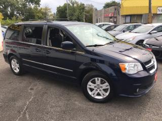 Used 2014 Dodge Grand Caravan CREW/ DVD/ NAVI/ CAM/ STOW & GO/ ALLOYS! for sale in Scarborough, ON