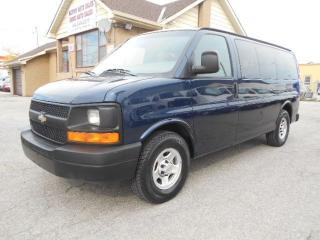 Used 2005 Chevrolet Express 1500 LS 8Passenger 5.3L Loaded Certified ONLY 124,000Km for sale in Rexdale, ON
