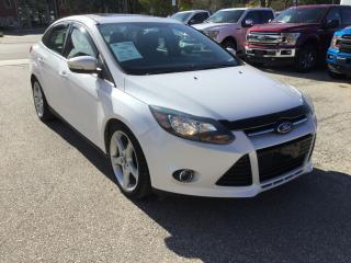 Used 2013 Ford Focus Titanium | Winter Tires | Moonroof for sale in Harriston, ON