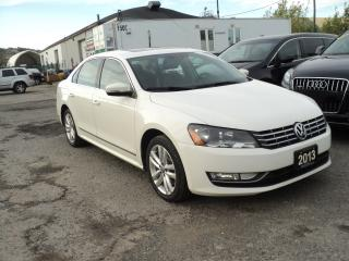 Used 2013 Volkswagen Passat COMFORTLINE,LEATHER,SUN ROOF for sale in Oakville, ON