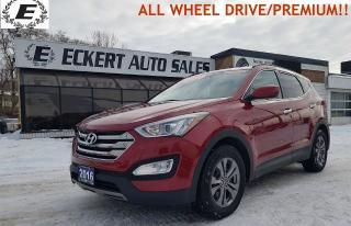 Used 2016 Hyundai Santa Fe Sport Premium ALL WHEEL DRIVE!! for sale in Barrie, ON