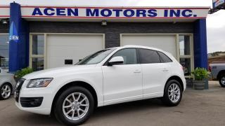 2012 Audi Q5 3.2L- PAN ROOF, BACK UP SENSORS, LEATHER