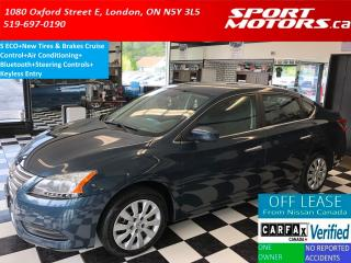 Used 2014 Nissan Sentra S+New Tires & Brakes+Bluetooth+A/C+Keyless Entry for sale in London, ON