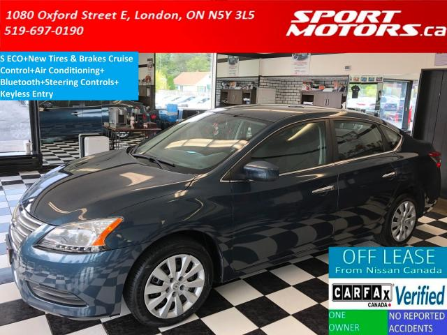2014 Nissan Sentra S+New Tires & Brakes+Bluetooth+A/C+Keyless Entry