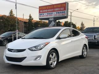 Used 2013 Hyundai Elantra GLS,SUNROOF !!! for sale in Toronto, ON