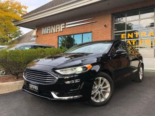 Used 2019 Ford Fusion Hybrid SEL Sunroof Navi Remote Starter Rear Cam Certified for sale in Concord, ON