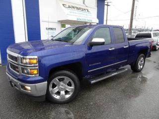 Used 2014 Chevrolet Silverado 1500 LTZ Z71 4x4, Double Cab, 6.6 Box, Nav, Leather for sale in Langley, BC