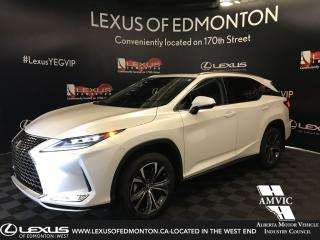 Used 2020 Lexus RX 350 L Luxury 7- Passenger for sale in Edmonton, AB