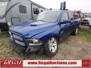 Used 2015 RAM 1500 Sport Quad Cab SWB 4WD 5.7L for sale in Calgary, AB