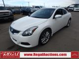 Photo of White 2012 Nissan ALTIMA SR 2D COUPE 3.5 AT