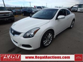 Used 2012 Nissan ALTIMA SR 2D COUPE 3.5 AT for sale in Calgary, AB
