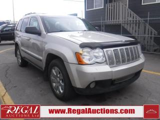 Used 2008 Jeep Grand Cherokee 4D Utility 4WD for sale in Calgary, AB