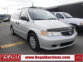 Used 2003 Honda Odyssey WAGON for sale in Calgary, AB