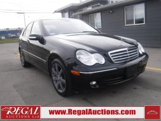 Used 2006 Mercedes-Benz C-Class C230 4D Sport Sedan for sale in Calgary, AB