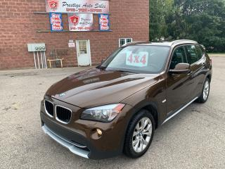 Used 2012 BMW X1 28i EXECUTIVE/AWD/NAVIGATION/ONE OWNER/CERTIFIED for sale in Cambridge, ON