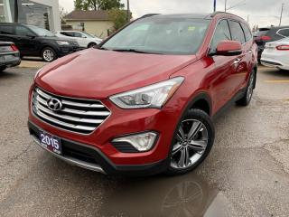 Used 2015 Hyundai Santa Fe XL Limited * Moonroof * Leather * Navigation * Touchscreen * for sale in London, ON