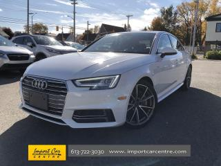 Used 2017 Audi A4 2.0T Technik S-LINE  LEATHER  ROOF  NAVI  BLIS for sale in Ottawa, ON