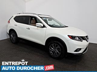 Used 2016 Nissan Rogue AWD NAVIGATION - Toit Ouvrant - A/C - Cuir for sale in Laval, QC