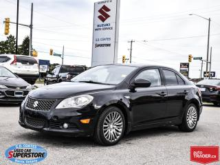 Used 2011 Suzuki Kizashi SX AWD ~Heated Leather ~Power Moonroof for sale in Barrie, ON