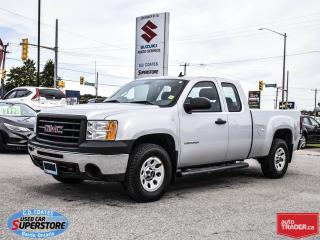 Used 2012 GMC Sierra 1500 WT Extended Cab 4x4 ~5.3L V8 ~Great Work Truck for sale in Barrie, ON