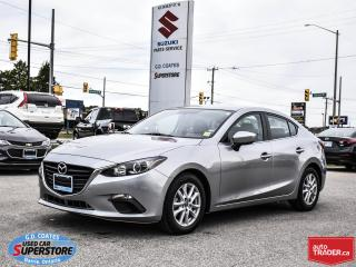 Used 2014 Mazda MAZDA3 GS ~SkyActiv ~Backup Cam ~Bluetooth ~Alloy Wheels for sale in Barrie, ON