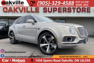 Used 2017 Bentley Bentayga W12 | 600HP | 0-60 4.1S | SUPER LUXURY for sale in Oakville, ON
