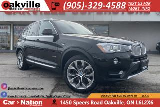 Used 2016 BMW X3 xDrive28i | NAVI | PANO ROOF | B/U CAM | HUD for sale in Oakville, ON