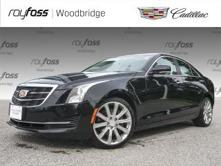 Used 2015 Cadillac ATS NAV, AWD, HEATED SEATS, SUNROOF for sale in Woodbridge, ON