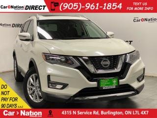 Used 2019 Nissan Rogue SV| AWD| PANO ROOF| APPLE CARPLAY & ANDROID| for sale in Burlington, ON