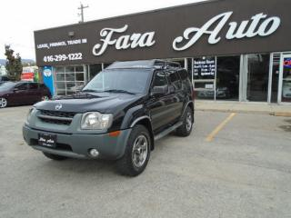 Used 2003 Nissan Xterra 4WD SUPERCHARGED for sale in Scarborough, ON
