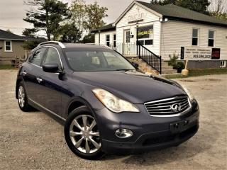Used 2010 Infiniti EX35 NoAccidents AWD Sunroof Bluetooth BackupCamLeatherPowerSeats for sale in Sutton, ON