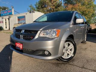 Used 2018 Dodge Grand Caravan Crew 2WD | FULL STOW N' GO|LEATHER|NAVI & BACKUP CAM| for sale in Brampton, ON