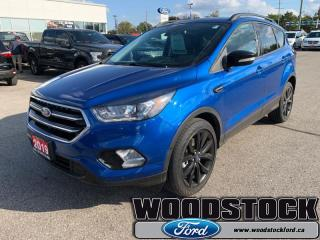 Used 2019 Ford Escape Titanium 4WD  - Low Mileage for sale in Woodstock, ON