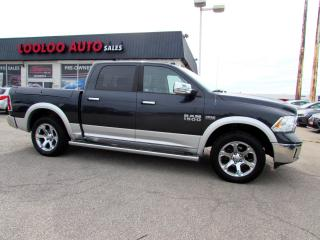 Used 2013 RAM 1500 Laramie Crew Cab SWB 4WD 5.7L HEMI CERTIFIED for sale in Milton, ON
