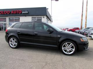 Used 2012 Audi A3 2.0T QUATTRO HATCHBACK AUTO S-LINE CAMERA CERTIFIED for sale in Milton, ON